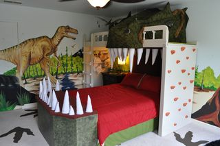 Carter Completes Dinosaur Bedroom Makeover - CarterBlog