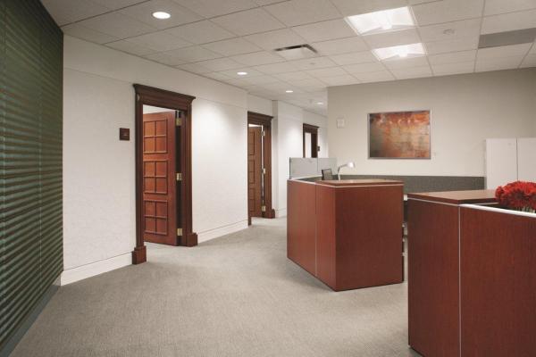 Kilpatrick townsend stockton s renovated atlanta office for Carter wells interior design agency
